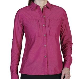 Exofficio Dryflylite Pizazz Long Sleeve Shirt